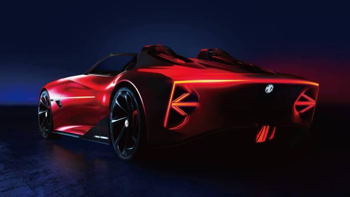 The MG Cyberster boasts Level 3 semi-autonomous driving capabilities. Image: MG