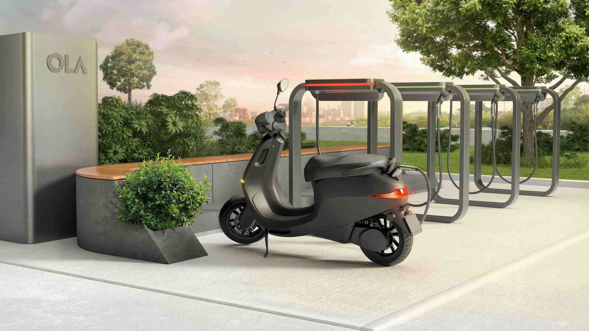 Ola Electric reveals details of its Hypercharger network ahead of e-scooter launch- Technology News, Gadgetclock