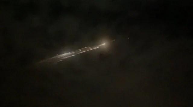 Falcon 9: Piece of SpaceX rocket debris lands at Washington state farm