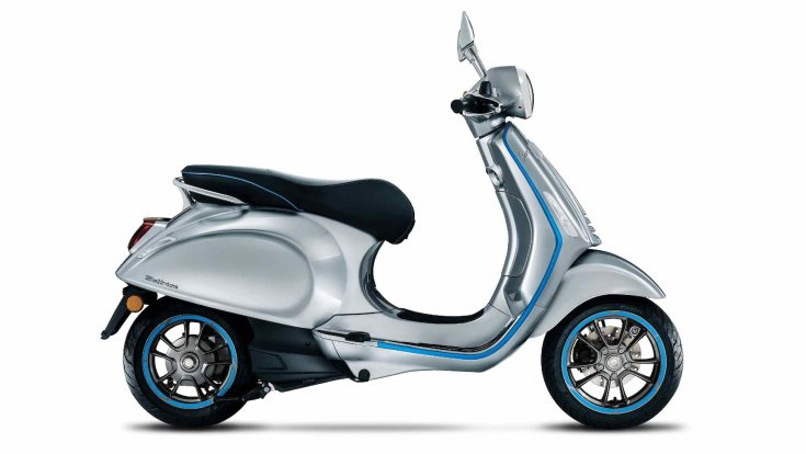 Vespa is currently developing an all-electric scooter for the Indian market. (Vespa Elettrica shown for representation only) Image: Piaggio