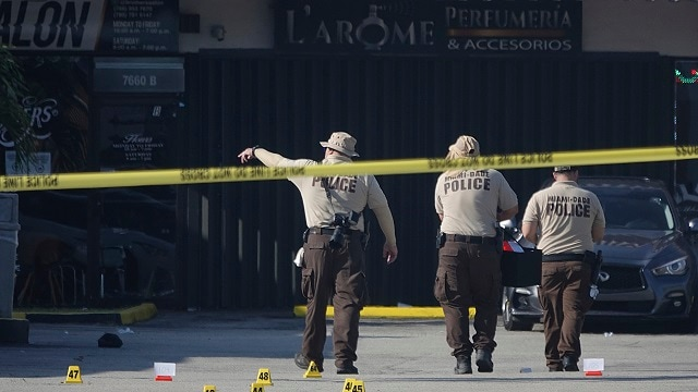 Two dead, over 20 injured in shooting outside banquet hall in Miami county-World News , Firstpost