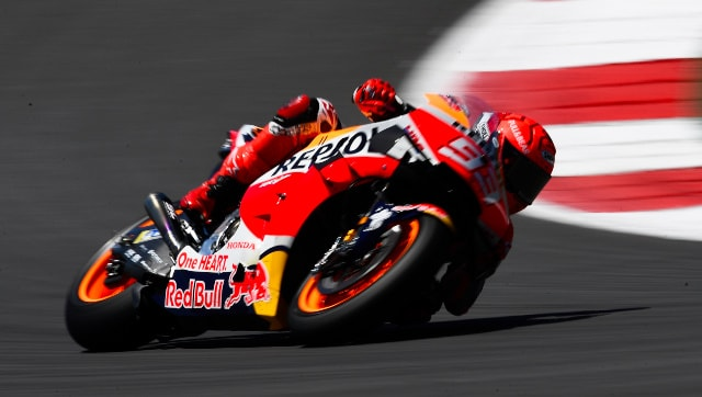 MotoGP 2021: Marc Marquez escapes major injury after high-speed crash in Spanish GP practice, declared fit to continue