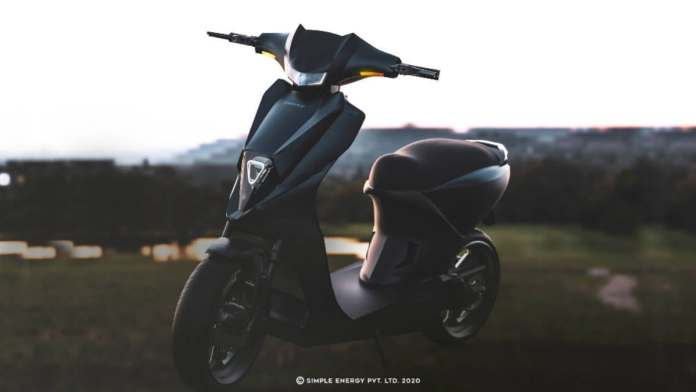The Simple One is expected to be priced from Rs 1.1 to Rs.1.2 lakh (ex-showroom). Image: Simple Energy