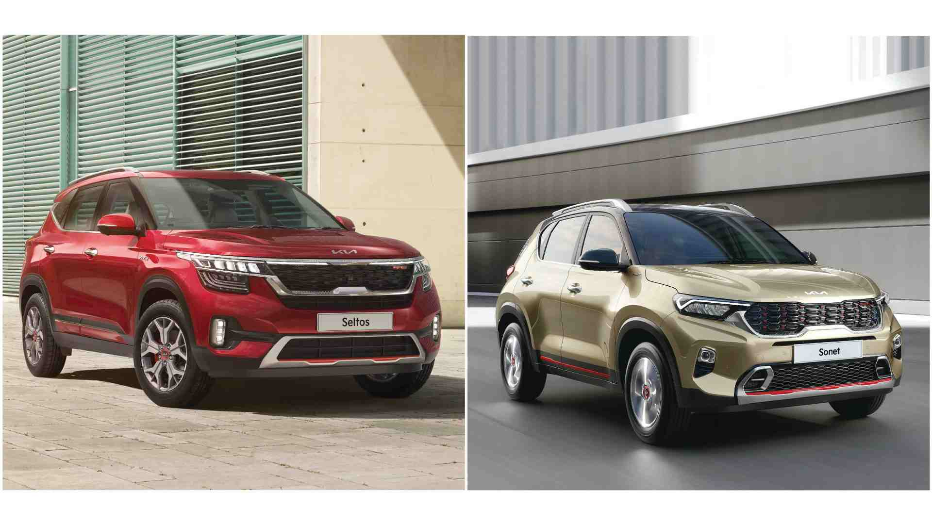 Updated Kia Sonet, Kia Seltos launched in India, AT variants feature paddle shifters- Technology News, Gadgetclock
