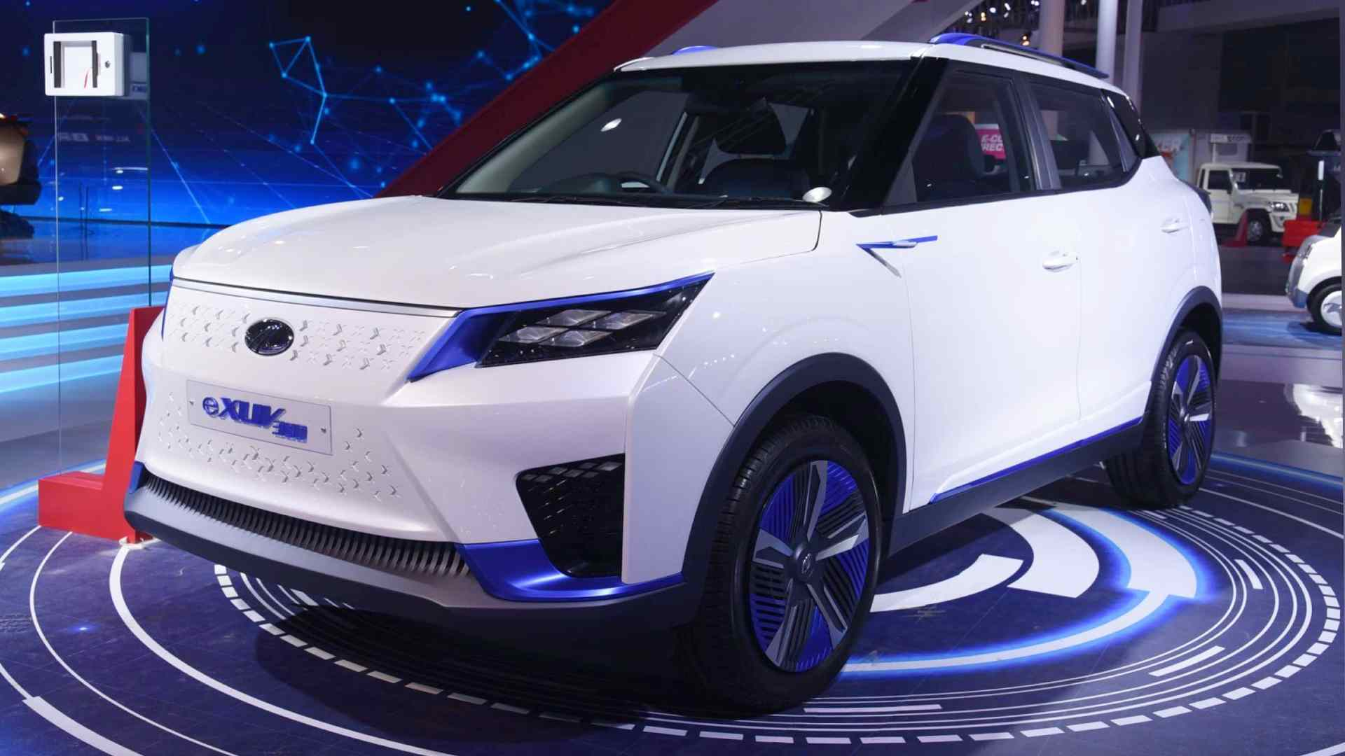 All-electric Mahindra eXUV300, Mahindra eKUV100 SUVs to be launched in India in 2022- Technology News, Gadgetclock