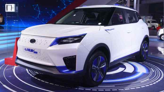 The Mahindra eXUV300 is set to arrive in 2022. Image: Mahindra
