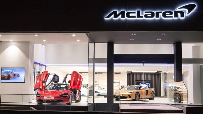 McLaren's outlet in Mumbai will share space with the Lamborghini showroom, in Prabhadevi. Image: McLaren