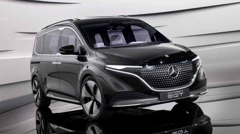 Mercedes-Benz Concept EQT previews electric derivative of upcoming T-Class luxury MPV- Technology News, Gadgetclock