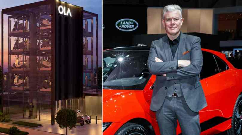 Ola Electric hires former Jaguar design chief Wayne Burgess to shape future models- Technology News, Gadgetclock