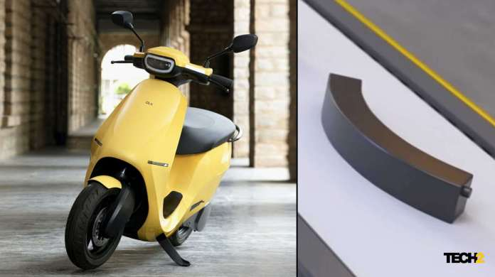 Tech2 has learned the Ola Electric scooter will have a battery capacity of close to 3.6 kWh. Image: Ola Electric/Tech2