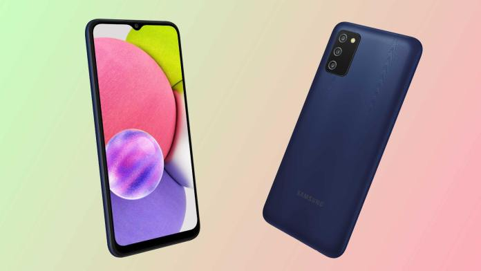 The Samsung Galaxy A03s will be available in two storage variants. Image: Samsung/Tech2