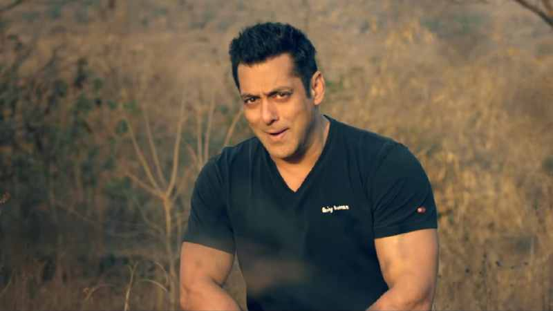 Salman Khan in a still from Notebook song Main Taare. YouTube screengrab
