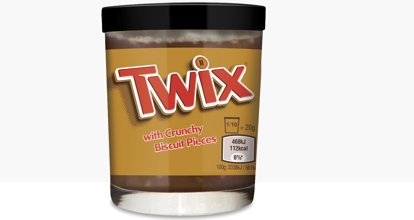 Mars Chocolate Is Now Selling Spreadable Twix Bars First