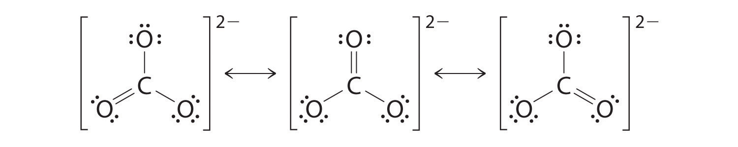 Hydrogen Carbonate Structure