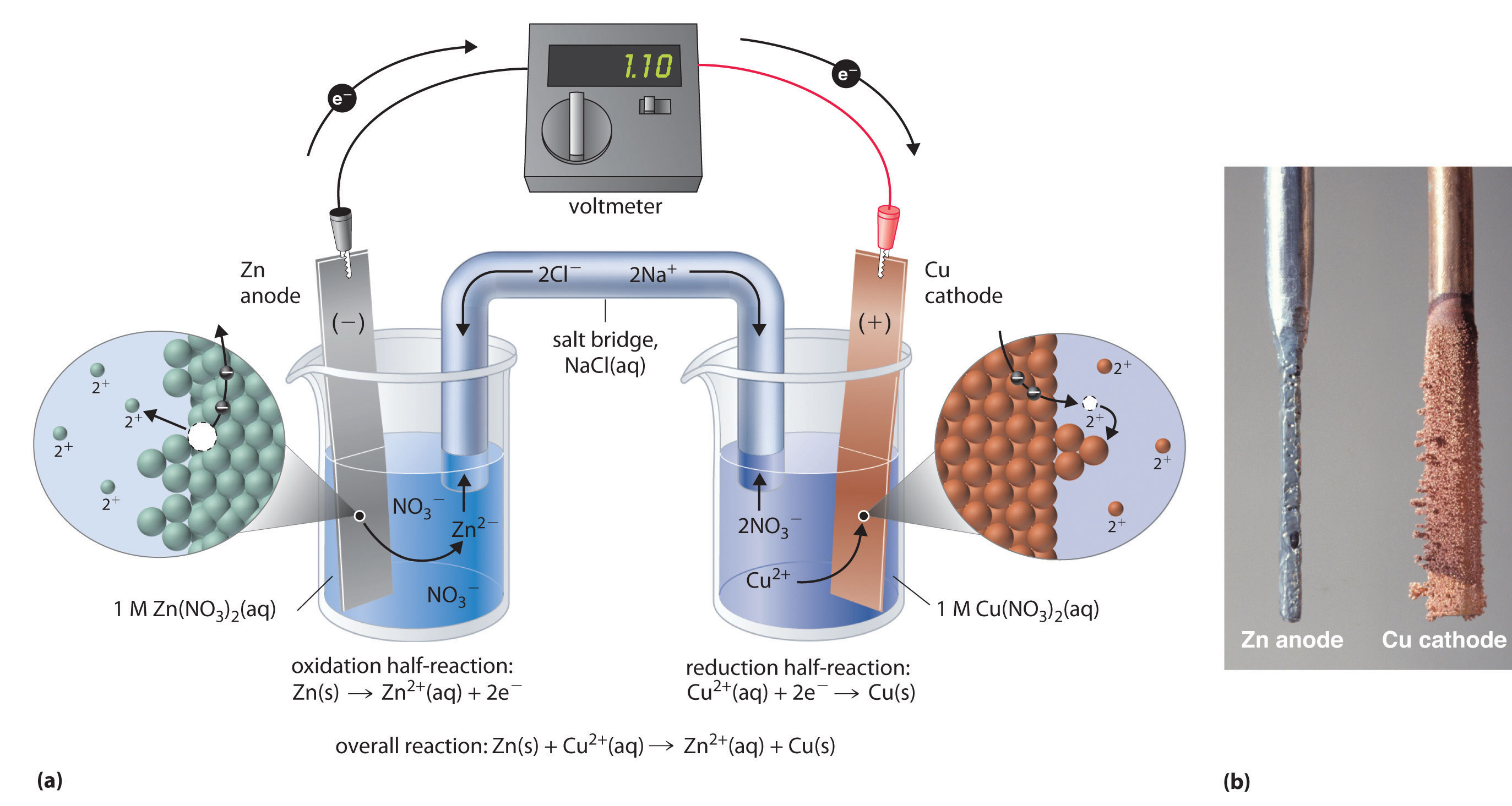 Two Half Cells In A Galvanic Cell Consist Of One Iron Fe S Electrode In A Solution Of Iron