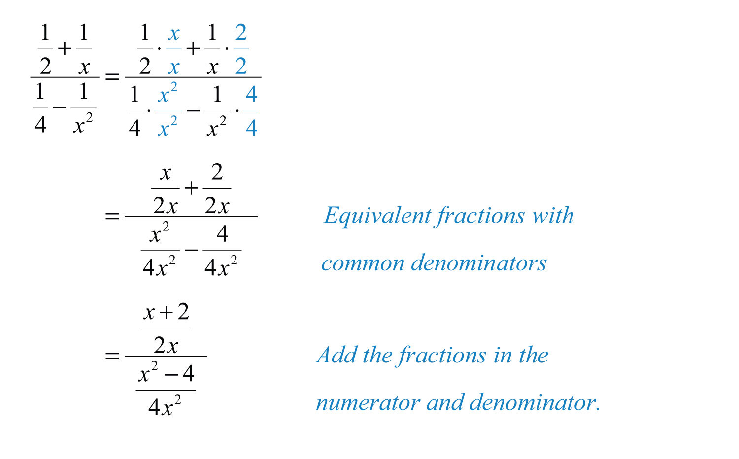 Solving Equations With Fractions And Variables In Denominator