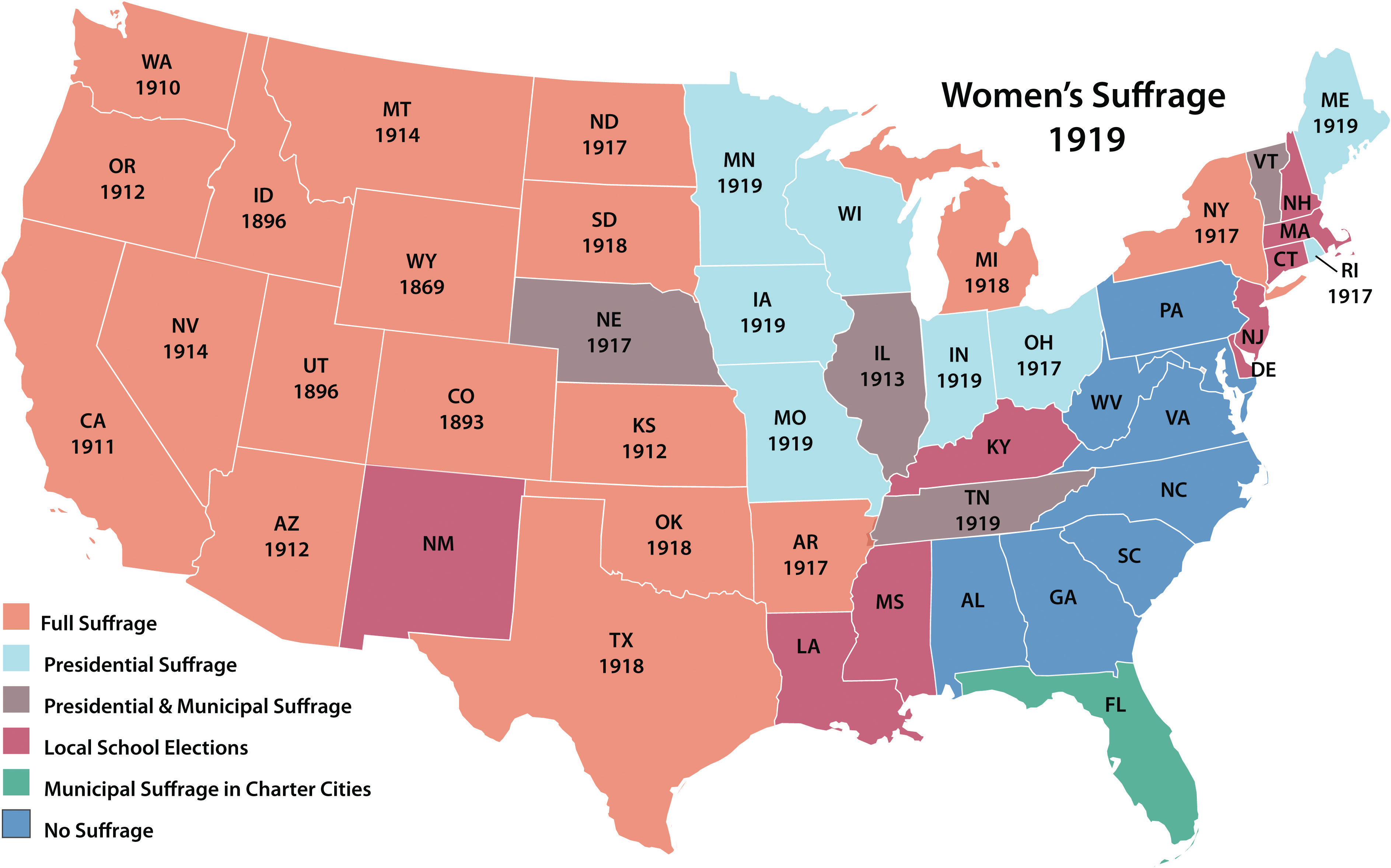 Lesson Module Women S Suffrage In The United States