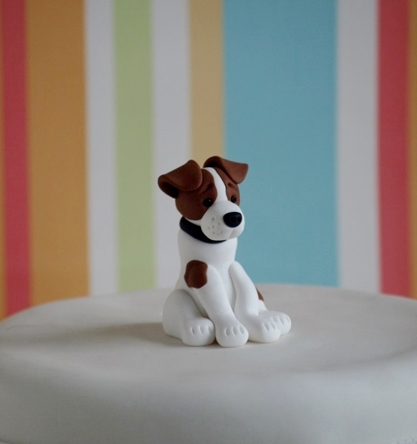 Jack Russell Cake Topper Folksy