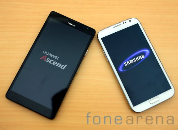 Huawei Ascend Mate vs Samsung Galaxy Note II-4