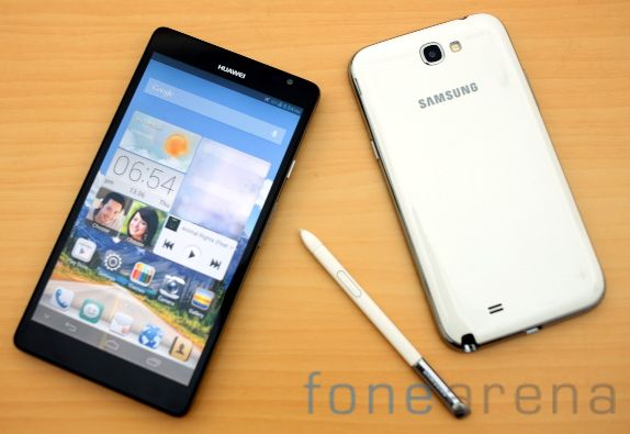 Huawei Ascend Mate vs Samsung Galaxy Note II-5
