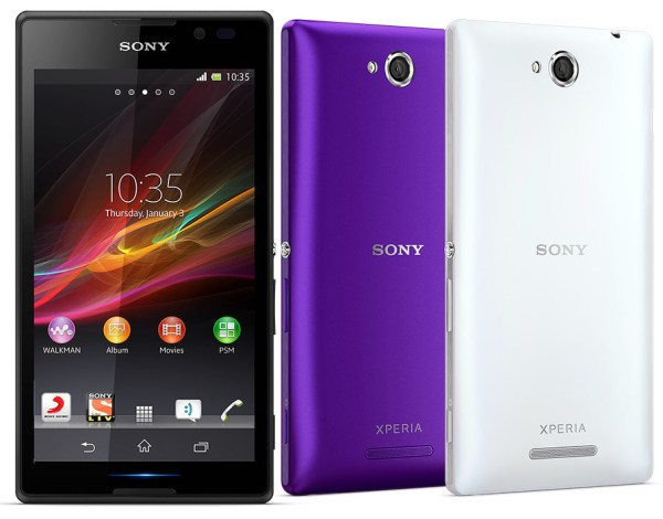 Sony Xperia C Dual SIM Android phone officially launched ...