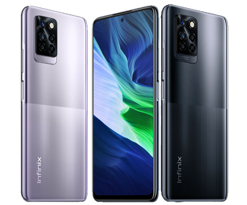 Infinix Note 10 Pro with 6.95-inch FHD+ 90Hz display, Helio G95, up to 8GB RAM and Note 10 with Helio G85, 5000mAh battery announced