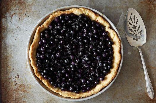 Rose Levy Beranbaum's Fresh Blueberry Pie from Food52