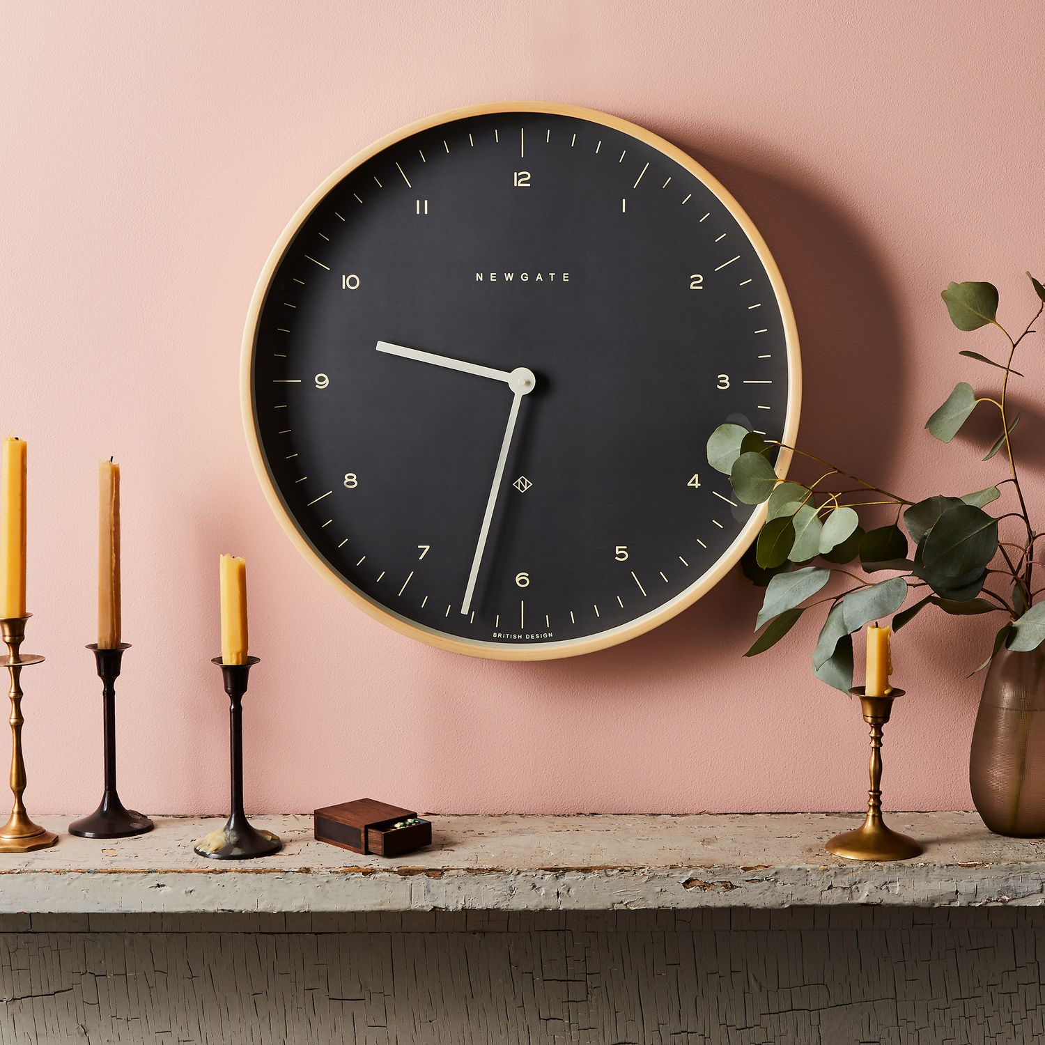 Mr Clarke Large Modern Plywood Wall Clock On Food52