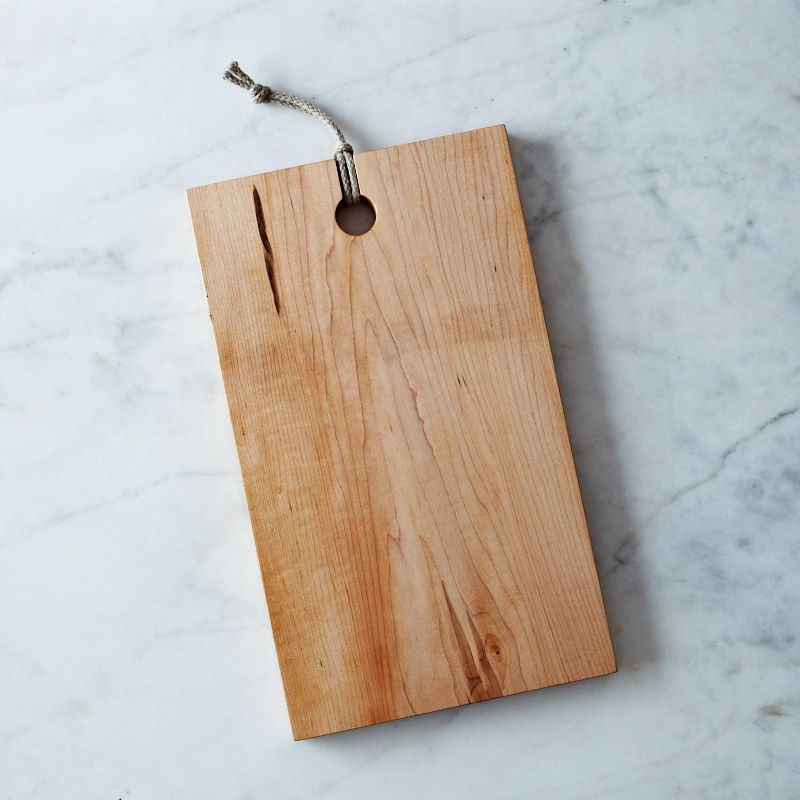 Rectangular Domestic Wood Serving & Cutting Board - Hard Maple