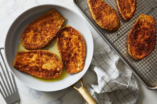 Breaded Eggplant Cutlets