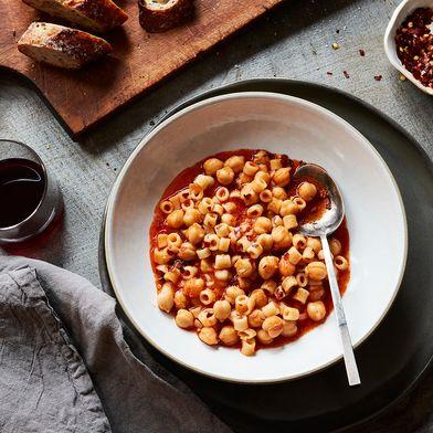 Victoria Granof's Pasta con Ceci