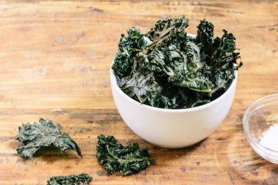 Resultado de imagen de chips kale