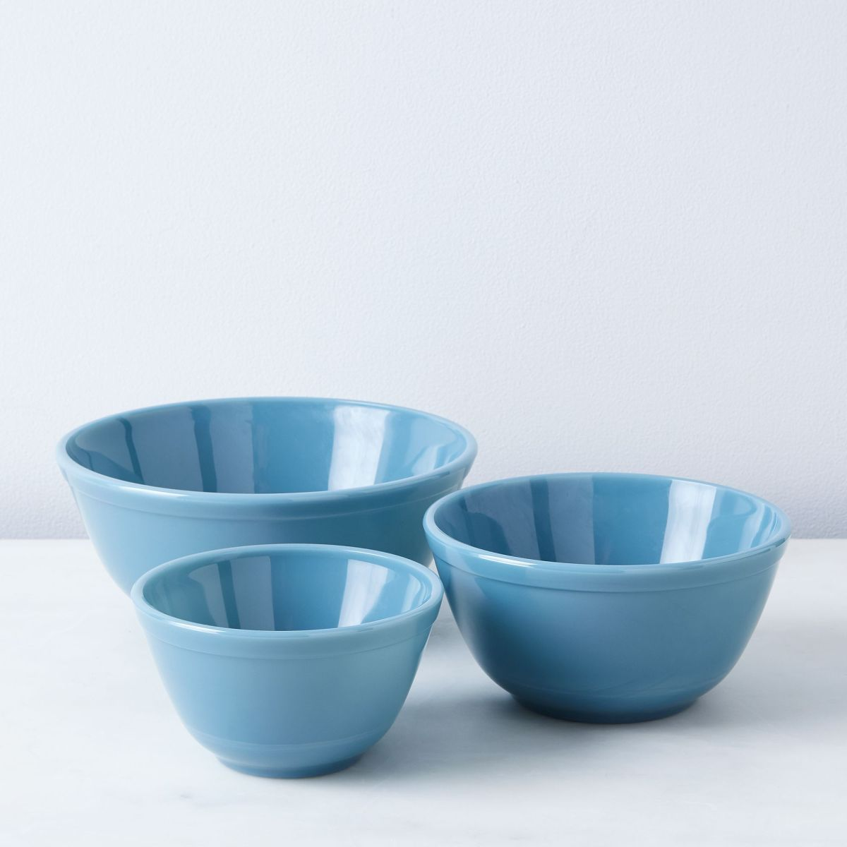 Food52 x Mosser Chelsea Glass 3-Piece Mixing Bowl Set