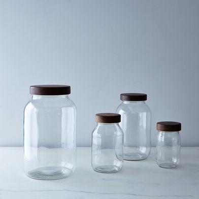 Hand-Turned Mason Jar and Lid