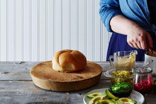 Best Torta Recipe - How to Make a Mexican Torta Sandwich 4