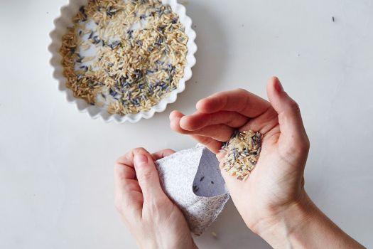 DIY Lavender Sachets by Laura Kaesshaefer