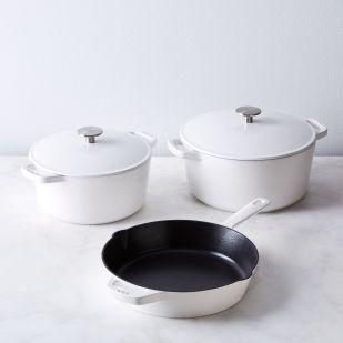 cast iron cooking set