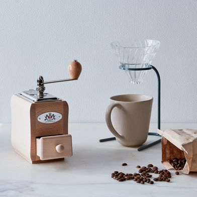 Natural Beechwood Coffee Grinder