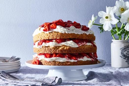 strawberry not-so-short cake from Erin McDowell