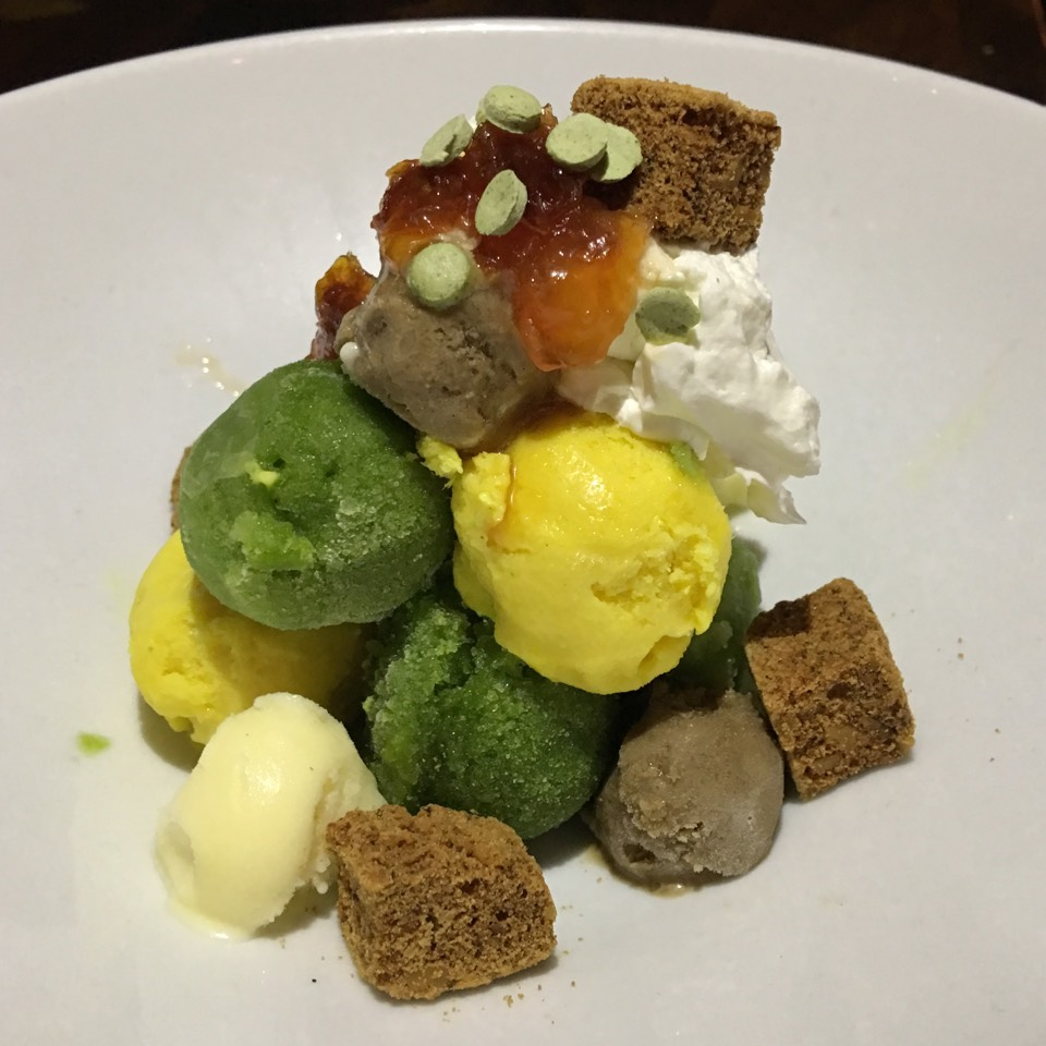 Image result for vegetable ice cream salad