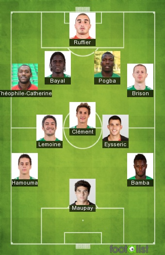 Le 11 probable face à Lorient