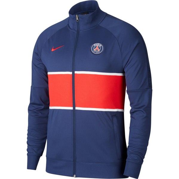 paris saint germain i96 anthem track jacket navy