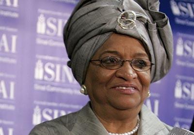 LIBERIan president