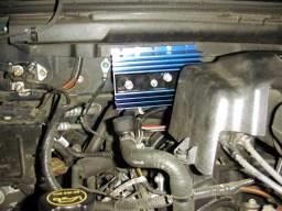 the mounted isolator