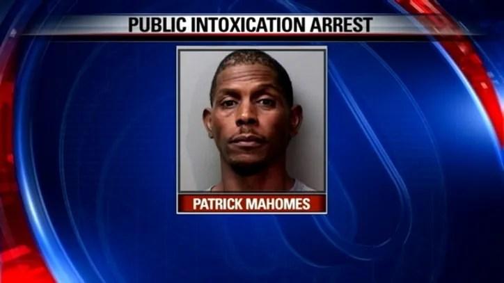 Pat Mahomes Arrested