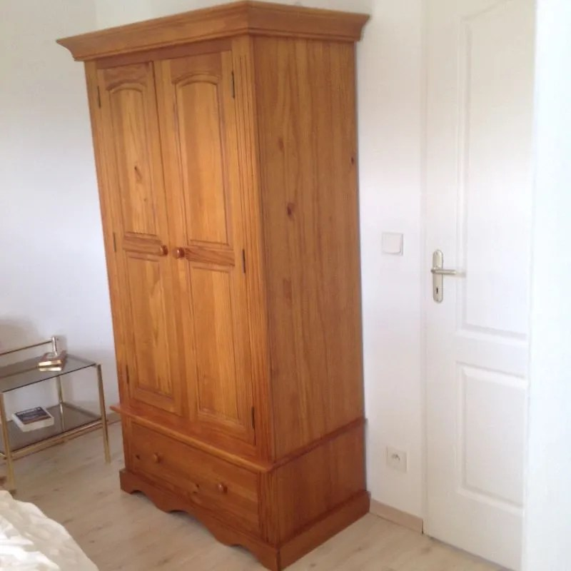 armoire pin massif armoires dressing