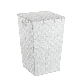 Panier A Linge Adria Plastique Tresse Carre 48 L Blanc Wenko Rakuten