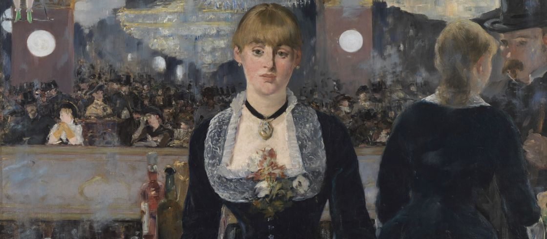 Edouard Manet Bar aux Folies-Bergre 1882 The Samuel Courtauld Trust The Courtauld Gallery London