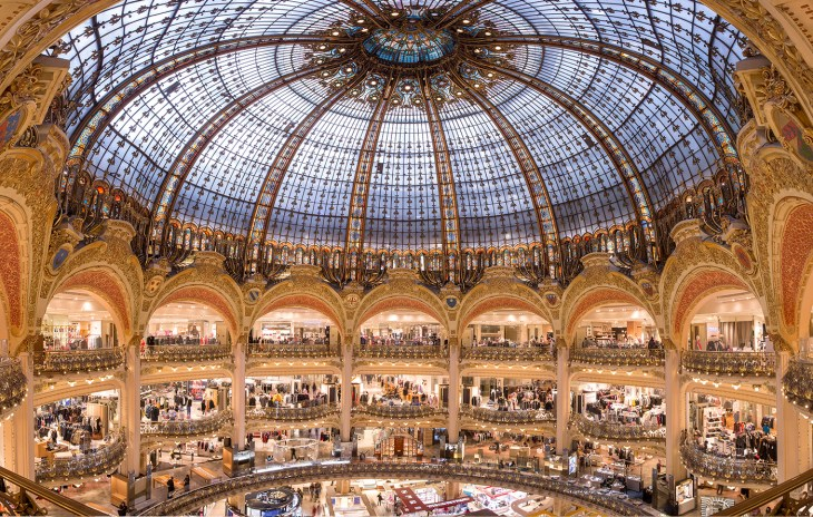Galeries Lafayette Paris Haussmann, el destino moda por excelencia