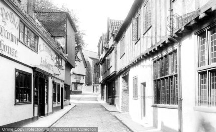 Photo of Norwich, Elm Hill 1929, ref. 81805